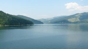 Lacul Bicaz, de pe baraj