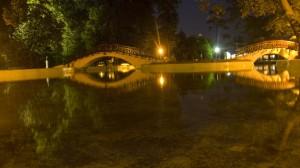lacul din parcul botosani