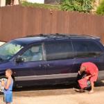 Spalare masina cu detergenti pe domeniul public