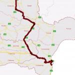 Detaliu traseu Eforie Nord - Suceava