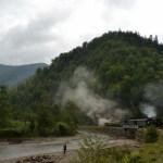 Mocănița pe Valea Vaserului