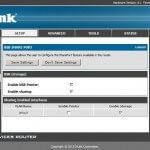 D-LINK DSR-250N USB SHARE