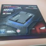 """SSD 120GB HyperX 3k SATA3 2,5"""" MLC SH103S3/120G KINGSTON"""