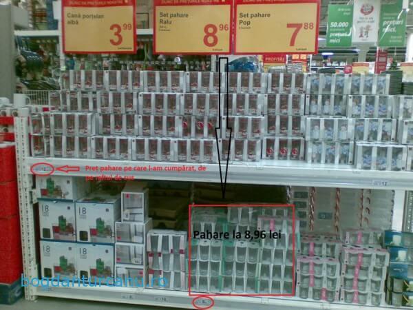 Auchan Suceava - practici comerciale dubioase