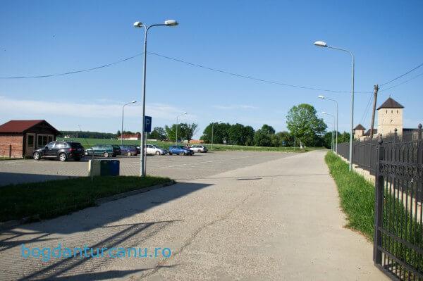 Parcare Manastirea Dragomirna Suceava