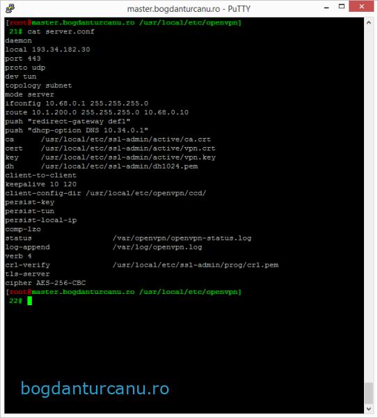 configurare-openvpn-server