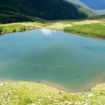 Lacul Lala Mare din muntii Rodnei
