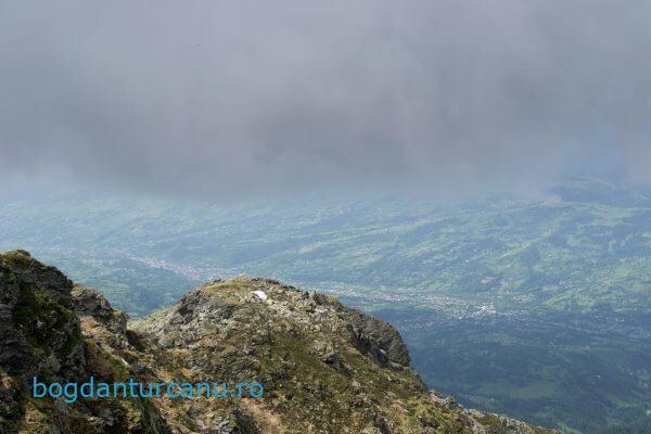 Vedere de pe Vârful Pietrosul Rodnei