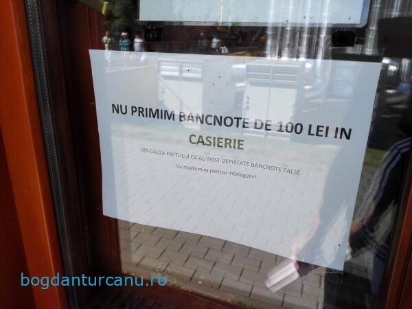 Arinis Gura Humorului refuza 100 lei