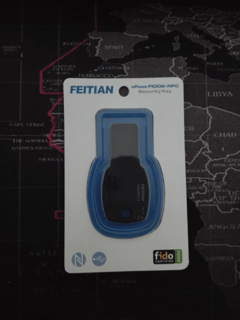 FEITIAN ePass FIDO2-NFC