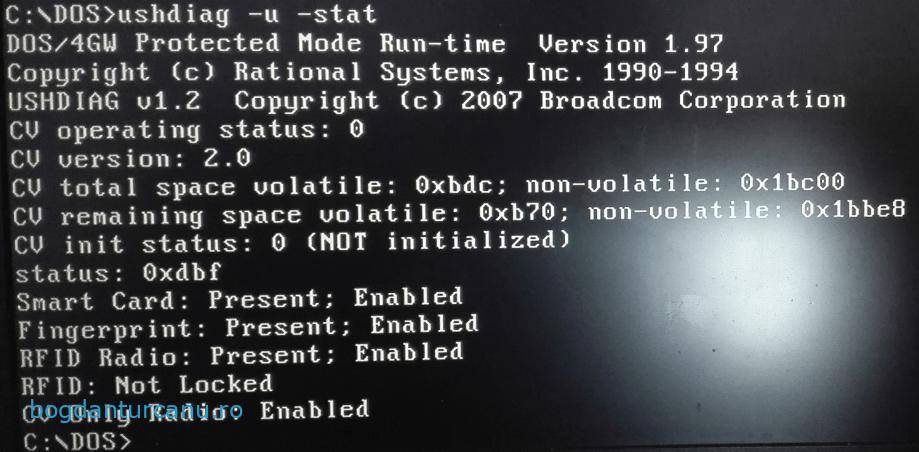 broadcom activare nfc rfid Dell Latitudee E7440