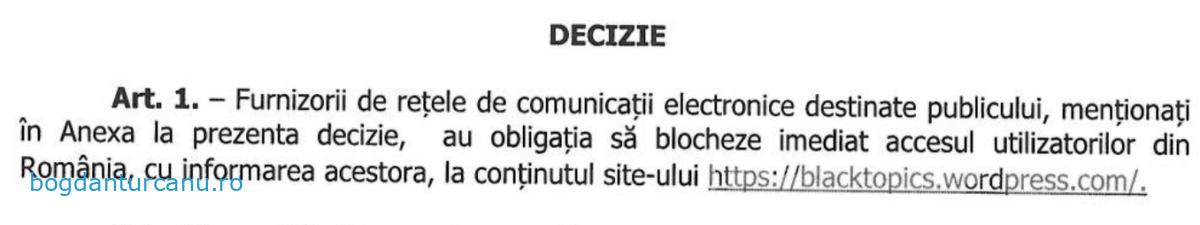 Decizie ANCOM