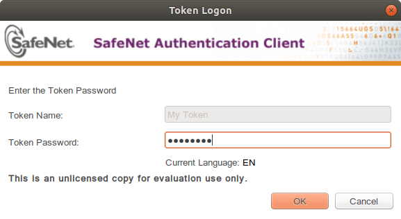 DIGISIGN Linux SafeNet eToken 5110