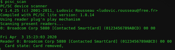 Broadcom 5880 activare NFC RFID