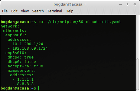 Ubuntu 18.04 Netplan DHCP dual stack IPv4/IPv6 Orange Home Net